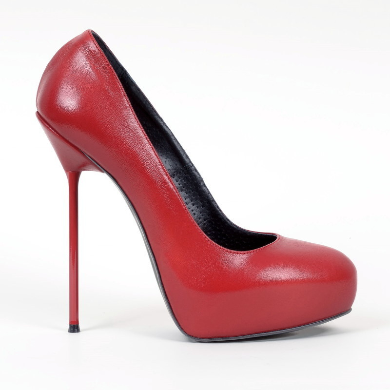 e282740347f164 PL - SC-280-P - Vitello rosso - high-heels Shoes Shop by Fuss