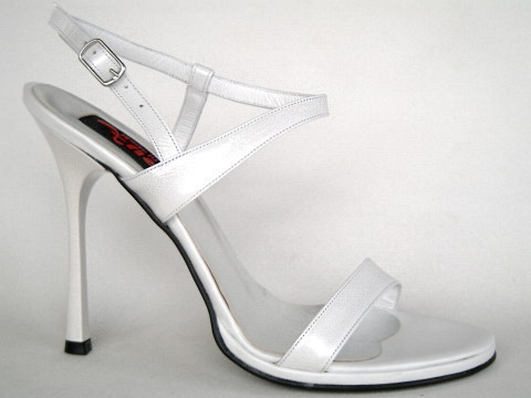 Sandals - M2-518 - Vitello bianco