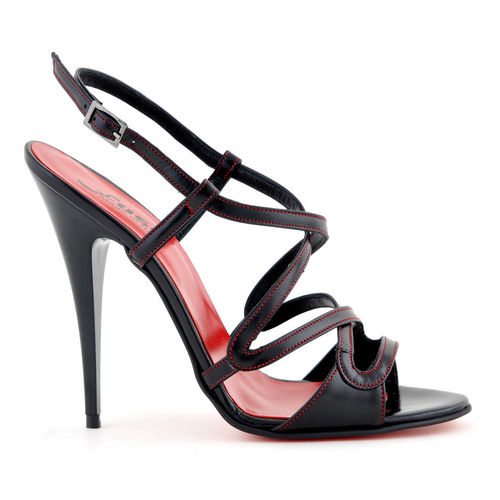 Sandals - 828-623 - Vitello nero