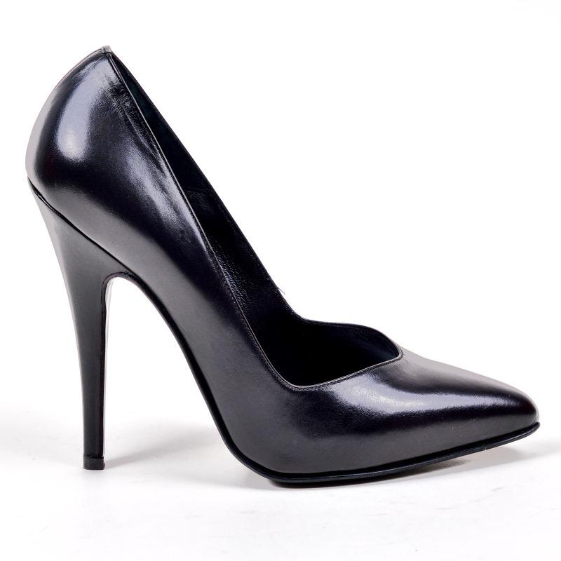 21f29712dccb70 Pumps - 1919-623 - Vitello nero - high-heels Shoes Shop by Fuss