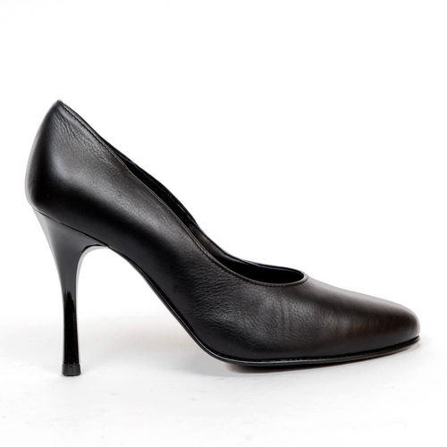 Pumps - 9883 - Vitello nero