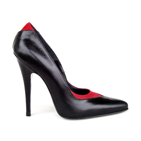 da954217559b17 Pumps - 4194 - nero rosso - High Heels Shop by FUSS Schuhe - Sexy ...