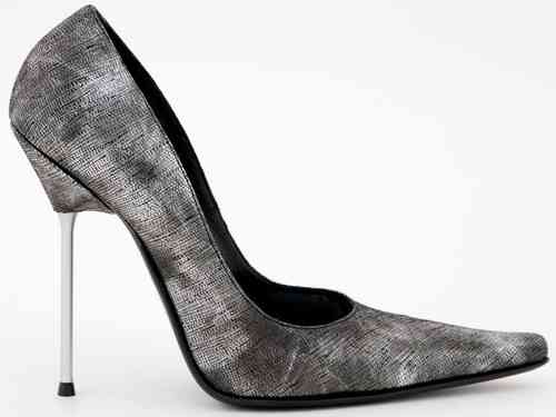 Pumps - 587-2881 - anthrazit-silber