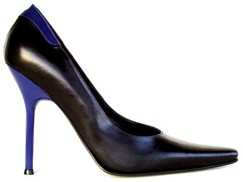 Pumps - 098 - nero/blu