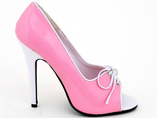 1ef0cf67ebd8 Pumps - 512-Mimi - pink-white - High Heels Shop by FUSS Schuhe ...