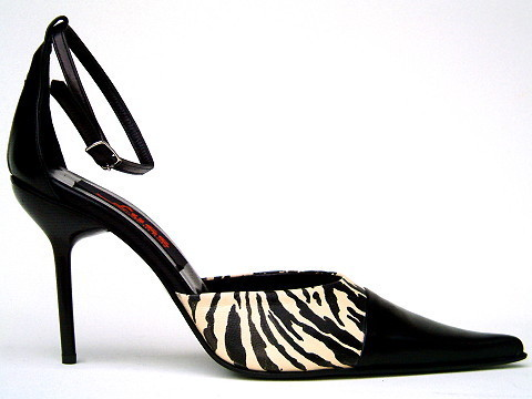 Pumps - 171B - Zebra beige