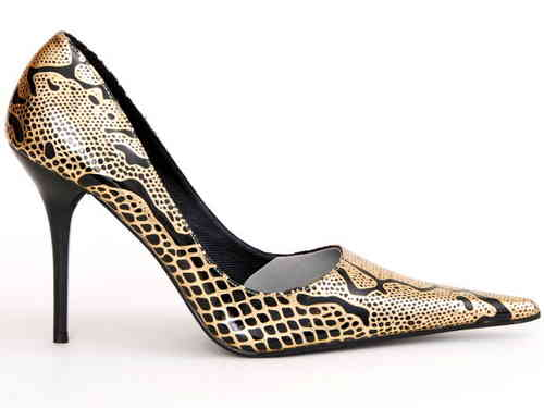 Pumps - 490-ALLSPICE - nero/oro