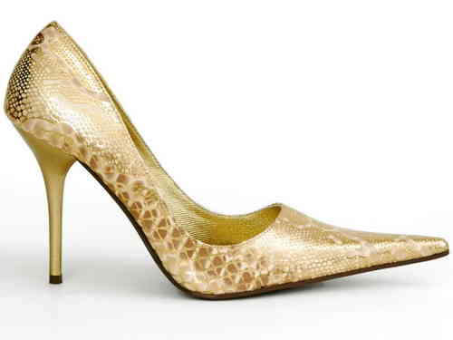 Pumps - 490-ALLSPICE - tan/oro