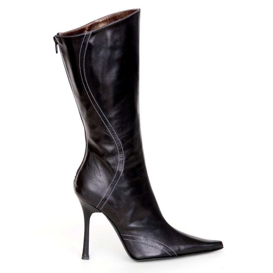 a7f1969d855296 Boots - B431-518 - nero - High Heels Shop by FUSS Schuhe - Sexy Shoes Made  In Italy
