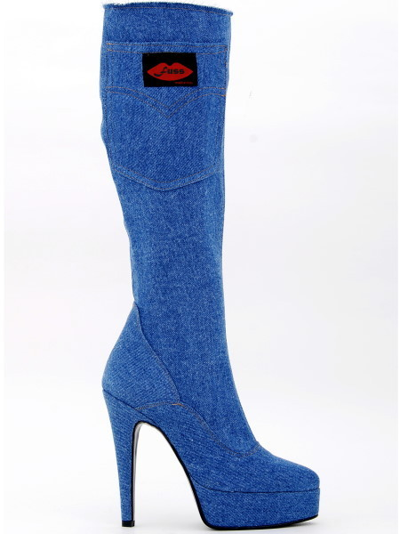 2be610570cefd8 Boots - 321 - Jeans - High Heels Shop by FUSS Schuhe - Sexy Shoes ...
