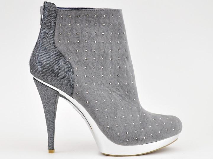 fd4d6500695233 Boots - Galaxy - grigio - High Heels Shop by FUSS Schuhe - Sexy ...