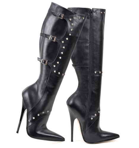 Boots - 881-2443 - Vitello nero