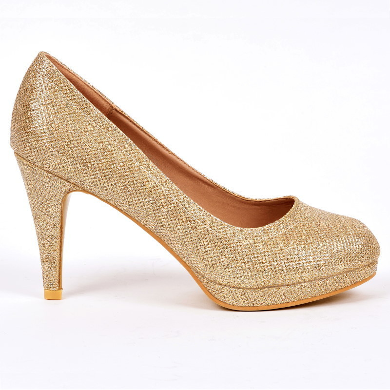 4879039d8f41 Pumps - Milou-32 - gold - High Heels Shop by FUSS Schuhe - Sexy ...