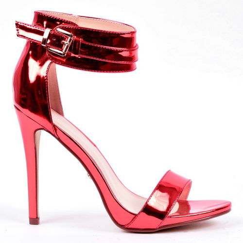 Sandals - Tari-26 - red metallic
