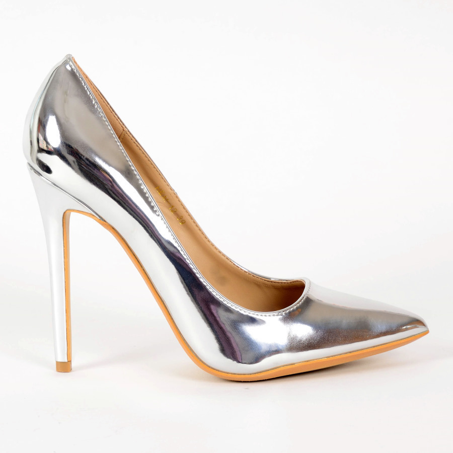 pumps svenja 24 l silver high heels shop by fuss. Black Bedroom Furniture Sets. Home Design Ideas