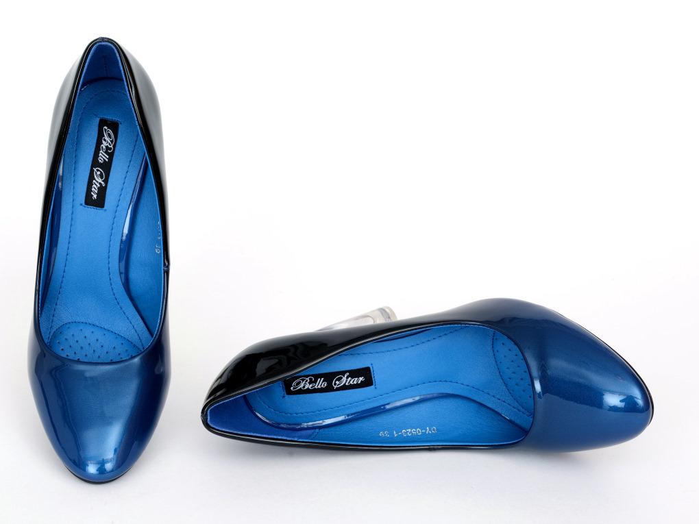pumps polly 21 blue high heels shop by fuss schuhe. Black Bedroom Furniture Sets. Home Design Ideas
