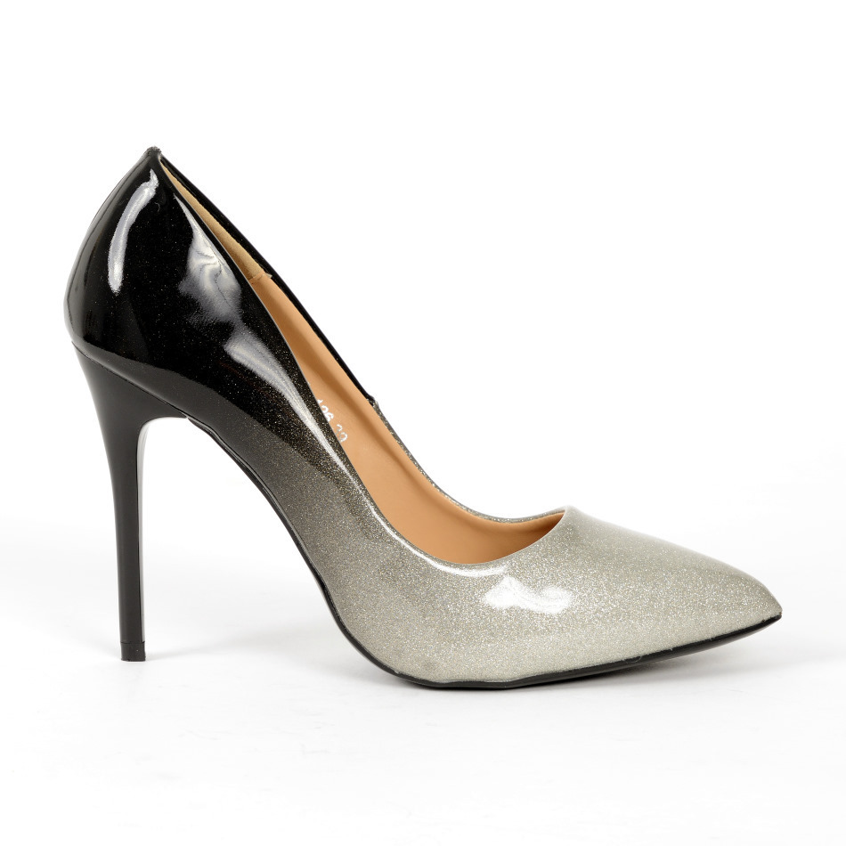 4e61c27e30b Pumps Amica 22 Silver Y High Heels Shoes By Fuss