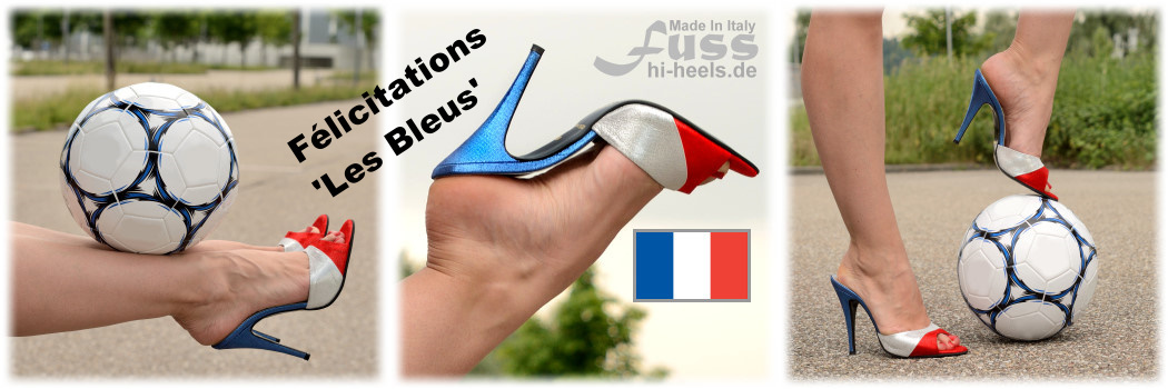 Congratulations France - 'Les Bleus' - Tricolor Team // Respect Croatia