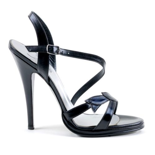 Sandals - 1597-623 - Vitello nero
