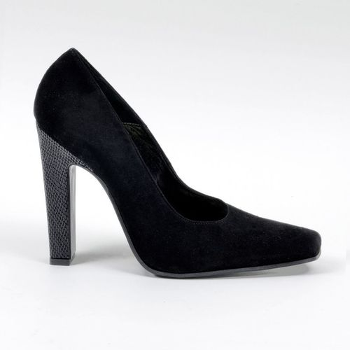 Pumps - Ve-1919-1820 - Camoscio nero