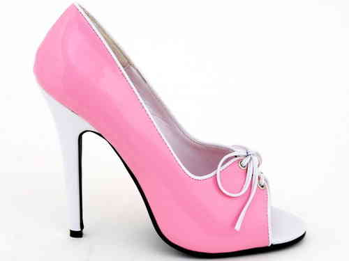 Pumps - 512-Mimi - pink-white