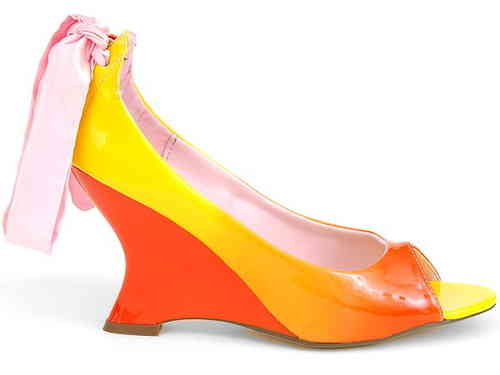Pumps - Aisha01 - arancio