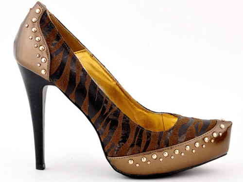 Pumps - 590-805 - Zebra brown