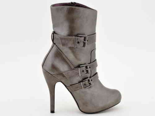 Boots - V8098 - taupe