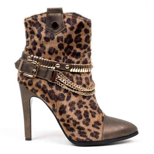 Boots - Betty-25 - leopardopelo