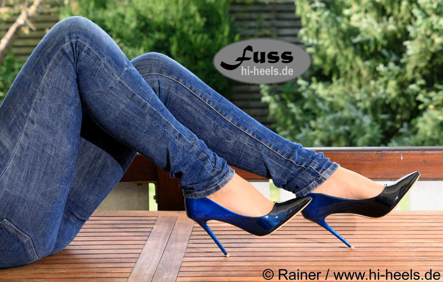 Pumps Darjana 22 blue High Heels Shop by FUSS Schuhe