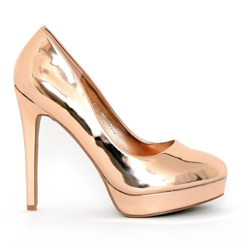PL Jessy 25 pink neon High Heels Shop by FUSS Schuhe
