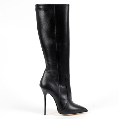 Boots - 8035 - Vitello nero