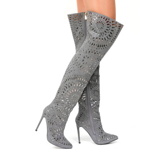 Boots - Andalusia-25 - grey