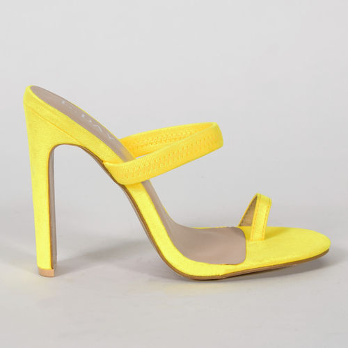Mules - Alessia-21 - yellow