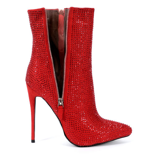 Boots - Amorina-20 - red