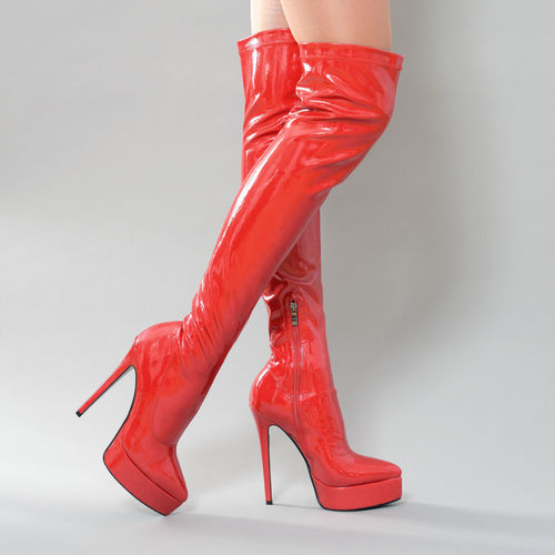 Boots - Tanja-05 - red