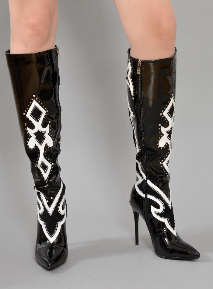 Boots Natascha 07 black
