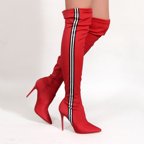 Boots - Teresa-01 - red