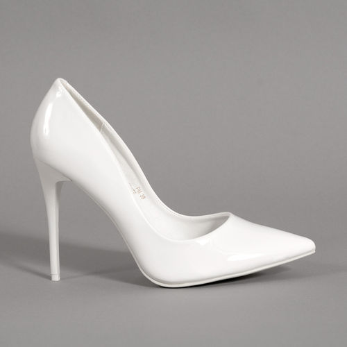 Pumps - Queeni-01 - white
