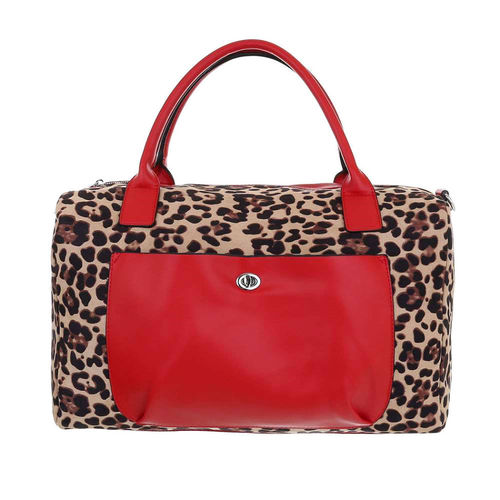 Bags - H-3830-117 - red-leopardo